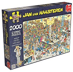 Jumbo Jan van Haasteren legpuzzel Kassa Erbij 2000 stukjes