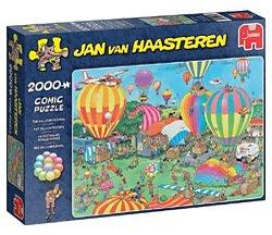 Jumbo Jan van Haasteren legpuzzel Ballonfestival 2000 stukjes