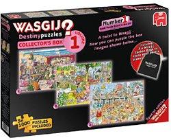 Jumbo legpuzzel Wasgij destiny 1 collectors box 1000 stukjes