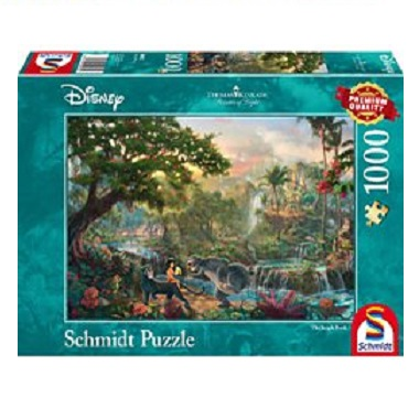 Schmidt Thomas Kinkade legpuzzel Disney The Jungle Book 1000 stu