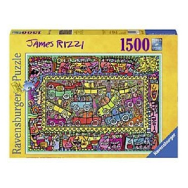 Ravensburger legpuzzel James Rizzi We are on our Way to Your Par