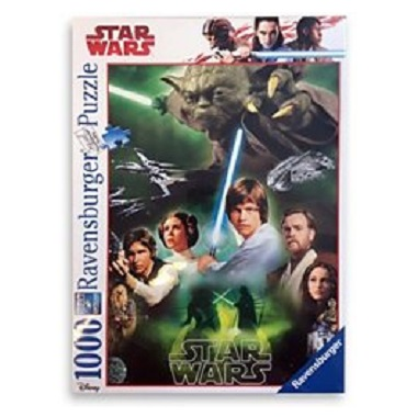 Ravensburger Star Wars legpuzzel De Helden 1000 stukjes