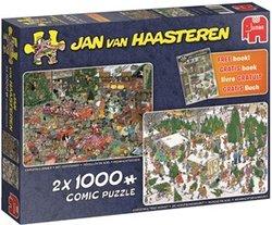 Jumbo Jan van Haasteren legpuzzel kerstcadeautjes 1000 stukjes