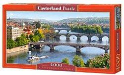 Selecta Castorland legpuzzel Vltava bridges in Praag 4000 stukje