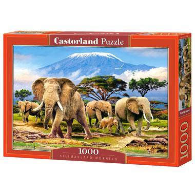 Selecta Castorland legpuzzel Kilimanjaro Ochtend 1000 stukjes