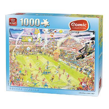 King legpuzzel Voetbalstadion 1000 stukjes