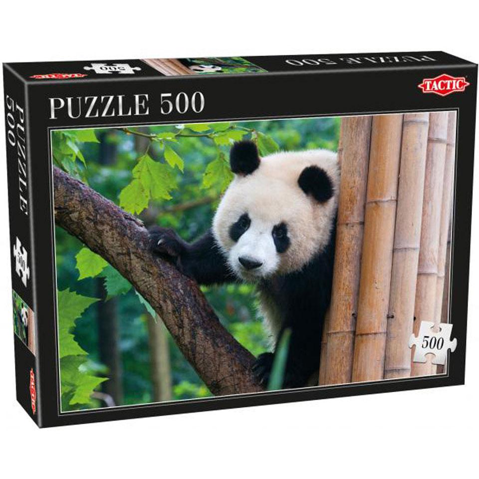 Tactic puzzel panda 500 stukjes vanaf 9 jaar