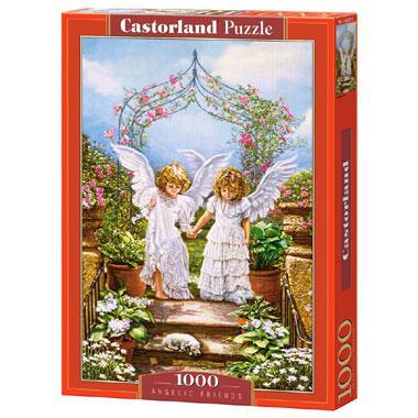 Selecta Castorland legpuzzel Engelachtige Vrienden 1000 stukjes