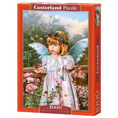 Selecta Castorland legpuzzel Dromen van een Vlinder 1000 stukjes