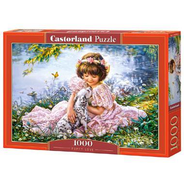 Selecta Castorland legpuzzel Puppy Liefde 1000 stukjes