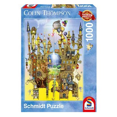 Schmidt legpuzzel Castle in the Air 1000 stukjes