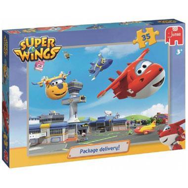 Jumbo kinderpuzzel Super Wings 35 stukjes vanaf 3 jaar