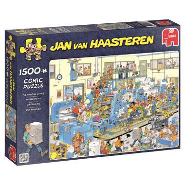 Jumbo Jan van Haasteren legpuzzel de Drukkerij 1500 stukjes