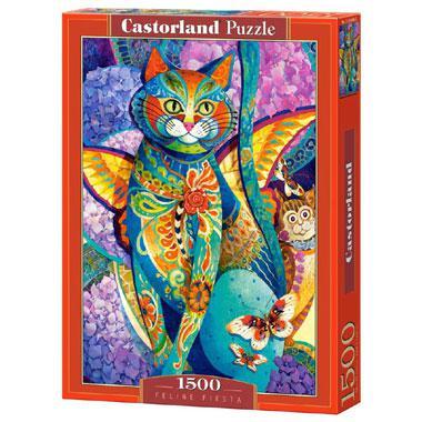 Selecta Castorland legpuzzel Feline Fiesta 1500 stukjes