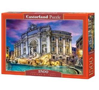 Selecta Castorland legpuzzel Trevi Fontein 1500 stukjes
