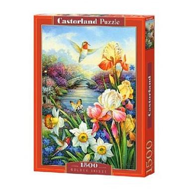 Selecta Castorland legpuzzel Gouden Iris 1500 stukjes