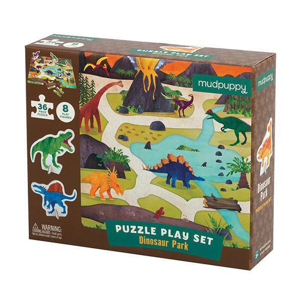 Mudpuppy puzzel met Dino Figuren 36 stukjes vanaf 3 jaar