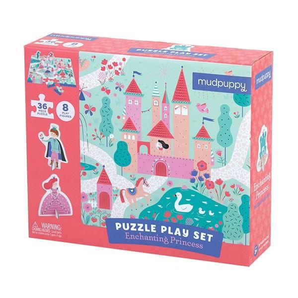 Mudpuppy puzzel met figuren Betoverende Prinses 36 stukjes vanaf