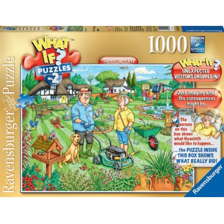 Ravensburger What if 2 legpuzzel Garden Open Day 1000 stukjes