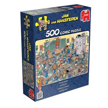 Jumbo Jan van Haasteren kinderpuzzel Vang de Muis 500 stukjes va