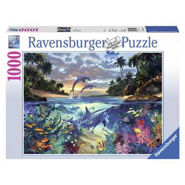Ravensburger puzzel koraalbaai 1000 stukjes