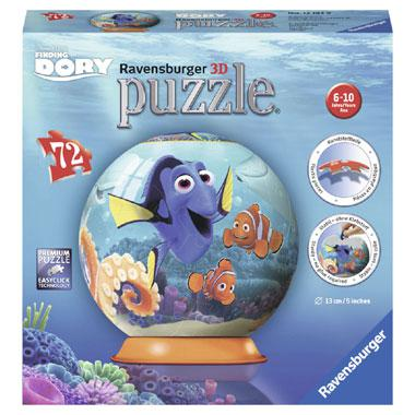 Ravensburger Disney 3D puzzelFinding Dory 75 stukjes vanaf 6 jaa