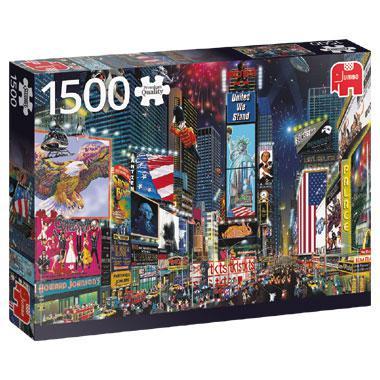 Jumbo legpuzzel Times Square New York 1500 stukjes