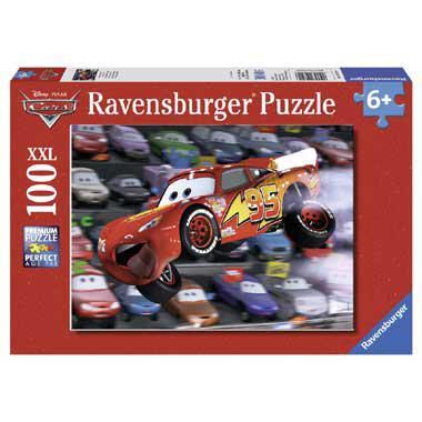 Ravensburger XXL kinderpuzzel Disney cars autos 100 stukjes vana