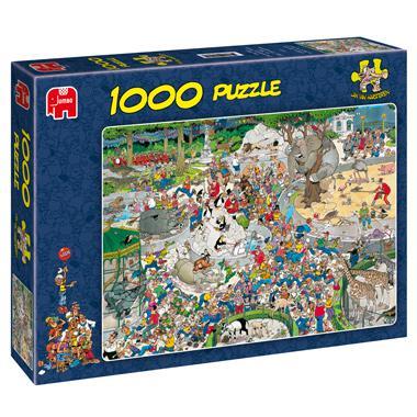 Jumbo Jan van Haasteren puzzel de dierentuin 1000 stukjes