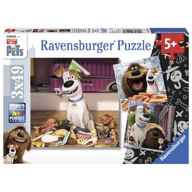 Ravensburger Secret Life of Pets kinderpuzzel Als de Kat van Hui