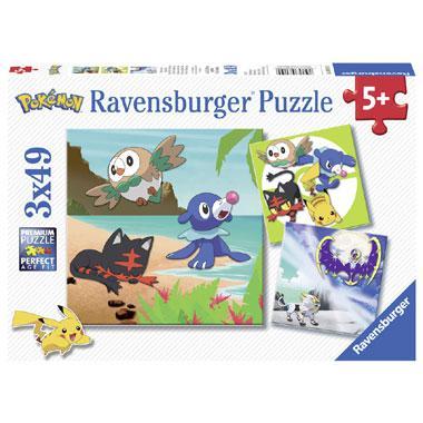 Ravensburger kinderpuzzel Pokemon 49 stukjes vanaf 5 jaar