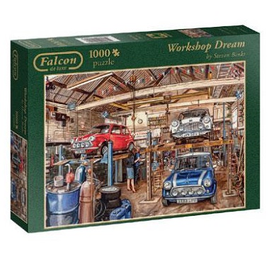 Jumbo Falcon legpuzzel Workshop Dream 1000 stukjes
