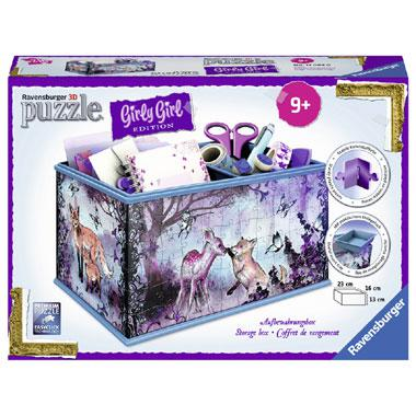 Ravensburger girly girl 3D puzzel animal trend opbergdoos 216 st