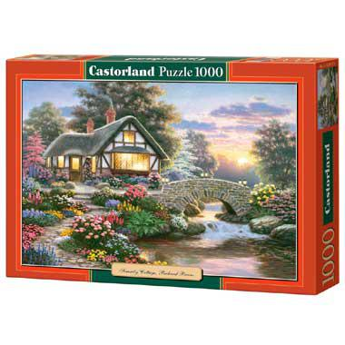 Castorland legpuzzel Serenity Cottage van Richard Burns