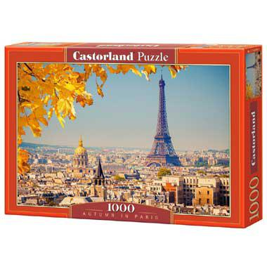 Selecta Castorland legpuzzel Autumn in Paris 1000 stukjes vanaf