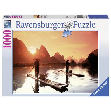 Ravensburger legpuzzel Vissers bij Zonsondergang 1000 stukjes