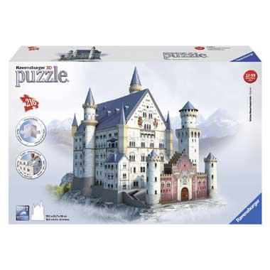 Ravensburger 3D puzzel Neuschwanstein 216 stukjes