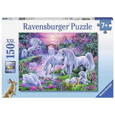 Ravensburger XXL puzzel Eenhoorns in het Avondrood 150 stukjes v
