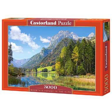 Selecta Castorland legpuzzel Mountain Refuge in the Alps 3000 st