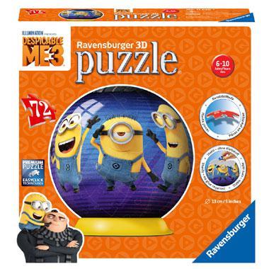 Ravensburger Verschrikkelijke ikke 3D puzzel Minions puzzelbal 7