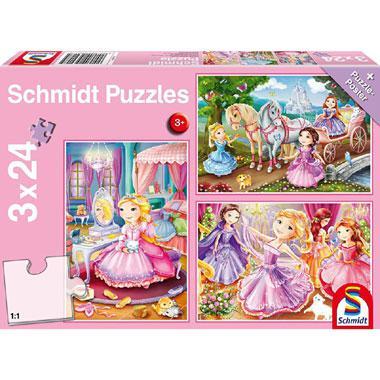 Schmidt puzzel Sprookjesachtige Prinses 24 stukjes vanaf 3 jaar