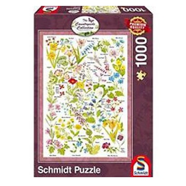 Schmidt legpuzzel Wilde Bloemen 1000 stukjes