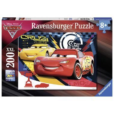 Ravensburger Disney Cars 3 XXL posterpuzzel Piepende Banden 200