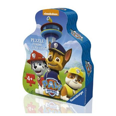Ravensburger Paw Patrol vormpuzzel Dappere Pups 35 stukjes vanaf