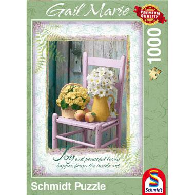 Schmidt legpuzzel Joy an Peaceful living 1000 stukjes