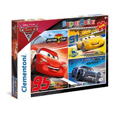 Clementoni Disney Cars 3 puzzelset vanaf 4 jaar