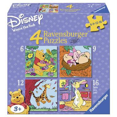 Ravensburger Disney Winnie de Poeh puzzel vanaf 3 jaar