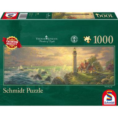 Panorama Kinkade Lighthouse 1000 stukjes