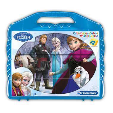 Clementoni Disney Frozen blokpuzzel vanaf 2 jaar 12 stukjes vana