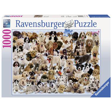 Ravensburger puzzel Hondencollage 1000 stukjes